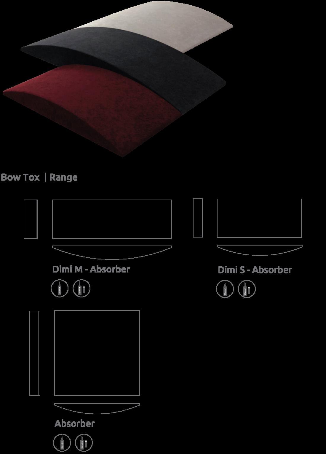 Artnovion product bow tox absorber range d12c42175f