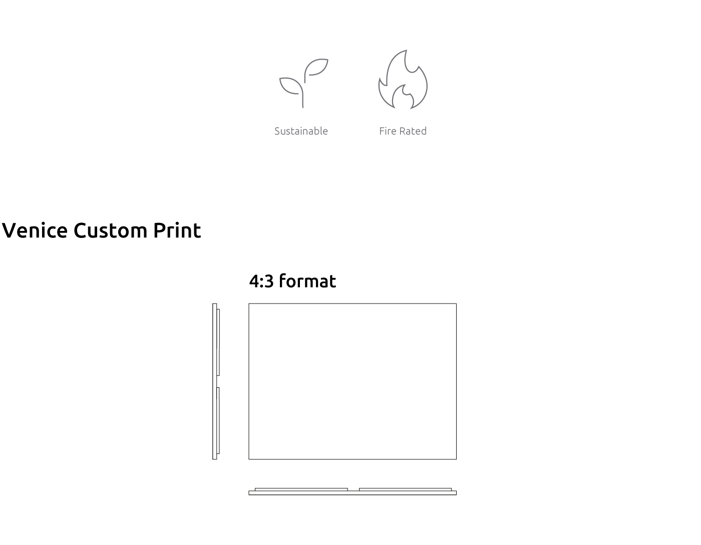 Artnovion product venice 4 3 format absorber custom print 7aa6f36c9a