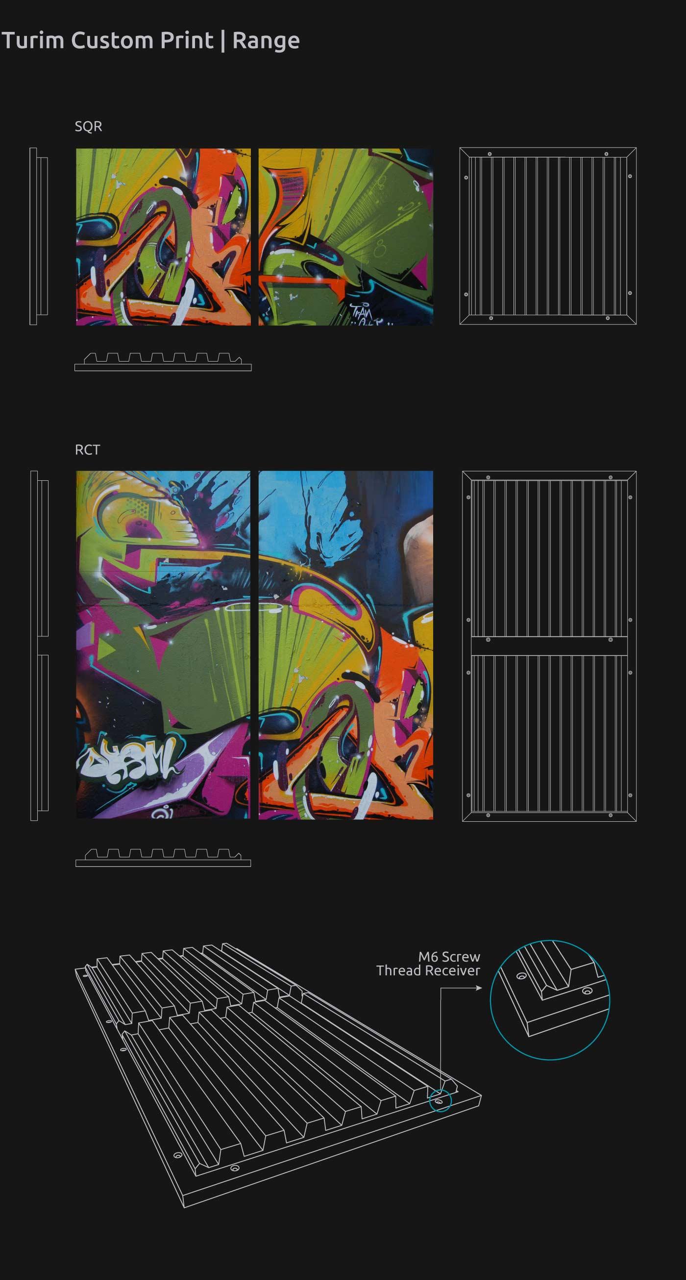 Artnovion product turim absorber custom print range f3f5adb4d9