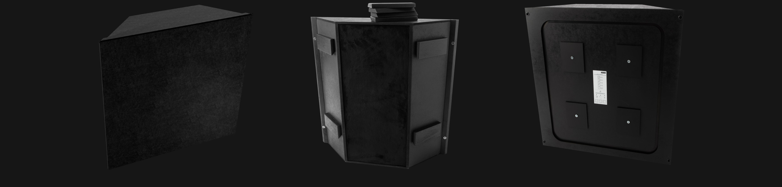 Artnovion product bass trap corner fabric 09c9262657